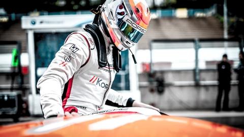 Loek Hartog in Porsche 991 GT3 Cup