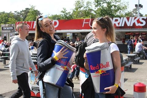 2019 Red Bull gaf de voorbijganger geen vleugels