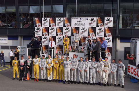 190825 DTM 500 Zandvoort 2001 Minuut stilte