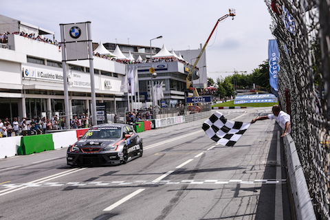 190707 WTCR R2 Azcona finish