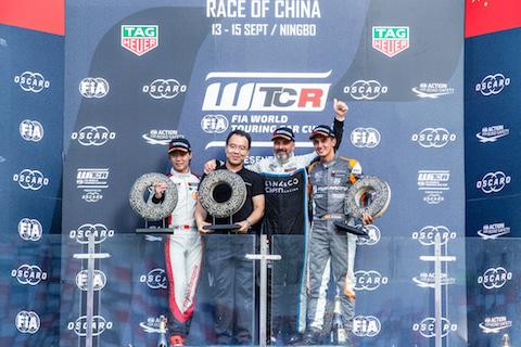 190915 WTCR R1 podium
