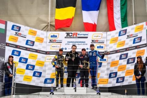 Hungaroring R2 podium 2