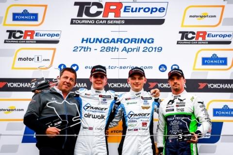 Hungaroring Race 1-podium