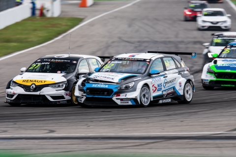 2019 EUR Hockenheim Race 1 27 John Filippi-62 Dusan Borkovic 33