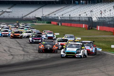 2019 EUR Hockenheim Race 1 start 2
