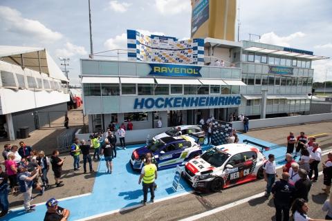 2019 EUR Hockenheim Race 2 mini parc ferme