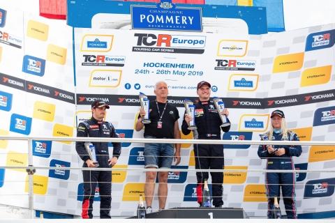 2019 EUR Hockenheim Race 2 podium