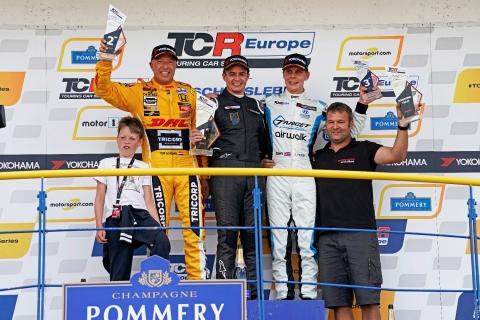2019 TCR EUR Oschersleben Race 2 podium 17