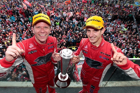 Garth Tander 2011 Bathurst Win