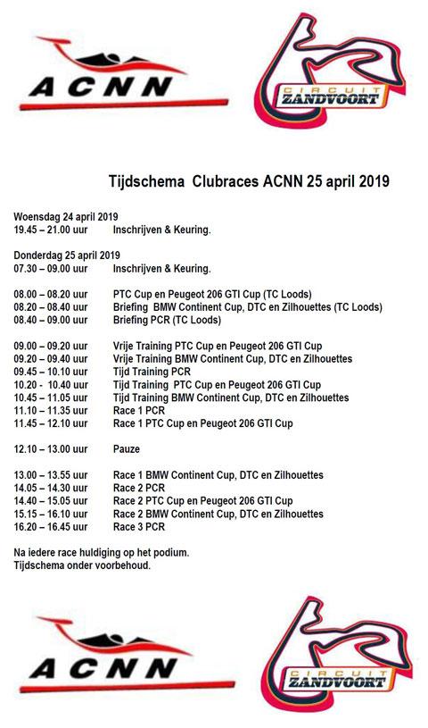 Tijdschema-Zandvoort-25-april-2019