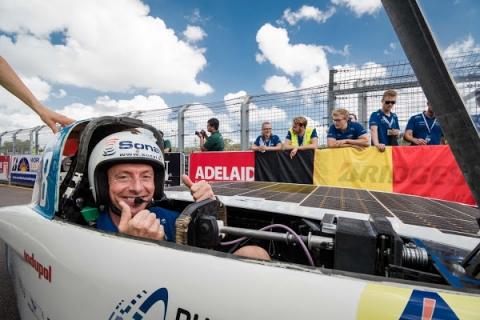 Bert Longin World Solar Challenge