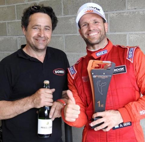 Alain Berg en Luc Dodion from DOMEC racing