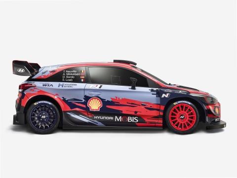 Hyundai WRC 2019 right small