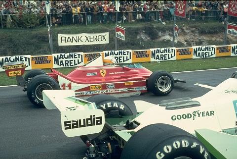 1979 Scheckter grid