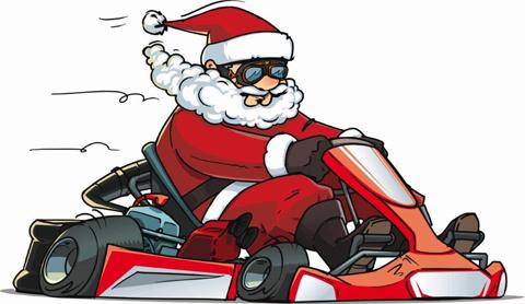 Santa-kart