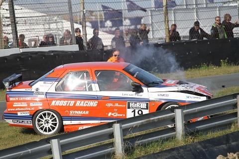 2019 Lars van het Veer Tourenwagenlegenden crash