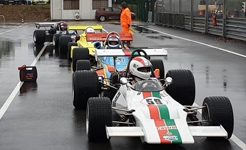 Racing in the rain - F2 klaar voor de vrije training