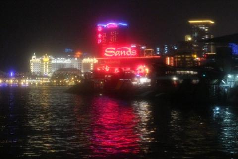 Macau aankomst