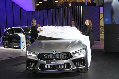 2020 BMW M8 Competition Onthulling 2
