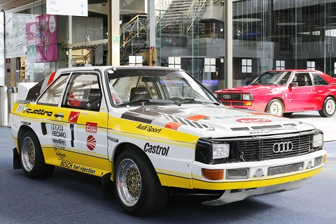 S1 Rally Quattro - 5 cyl turbo Garrett - 2110cc - 400 hp 1