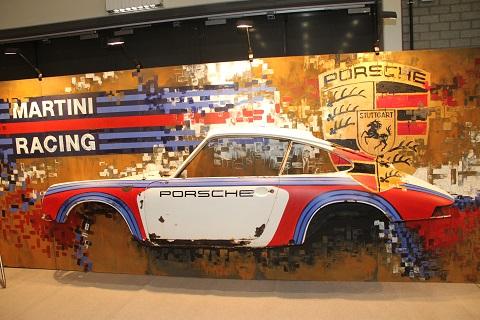2020 Porsche Wand