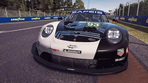200612 LM24 virtual quali Porsche