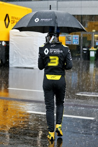Ricciardo paraplu