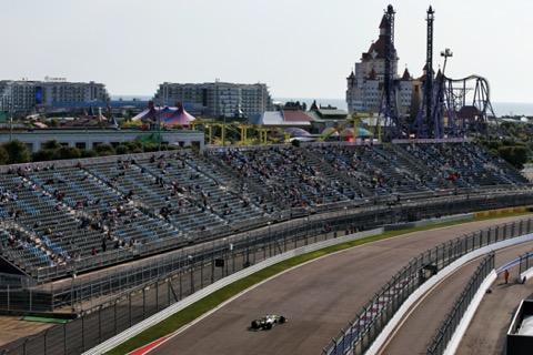 Ricciardo publiek en achtbaan