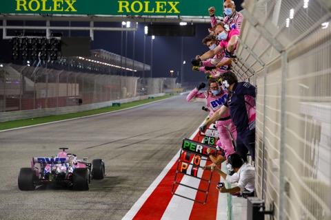 Perez finish