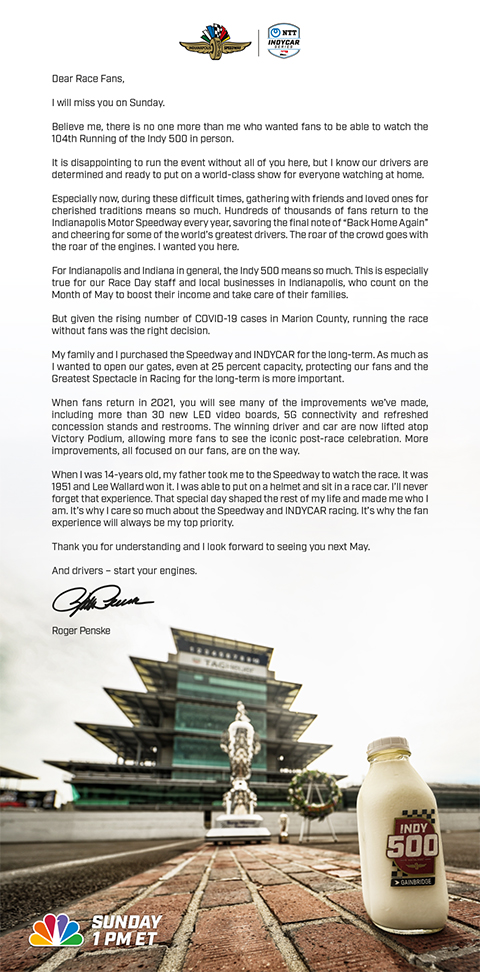 Special Message from-Roger