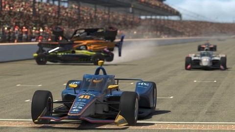 2020 Finish Indy 500
