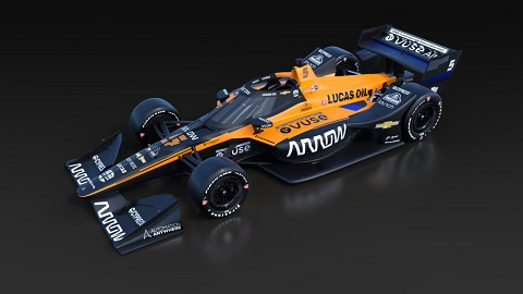 2020 Arrow McLaren SP