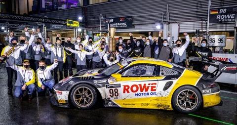 201025 ROWE Porsche win