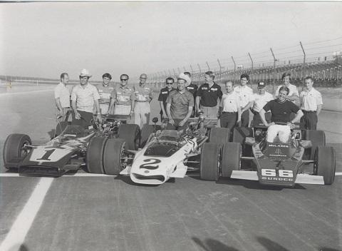 1971 Pocono met Al en Bobby Unser