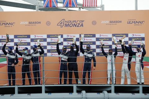 201012 ELMS Monza podium