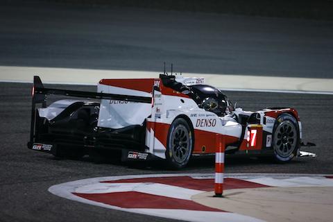 201113 WEC quali Toyota pole