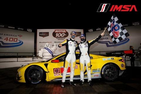 201012 IMSA Corvette winnaars