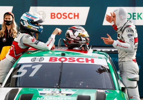 201107 DTM Race RAS MUE podium
