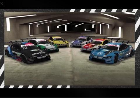 200603 DTM BMW cars