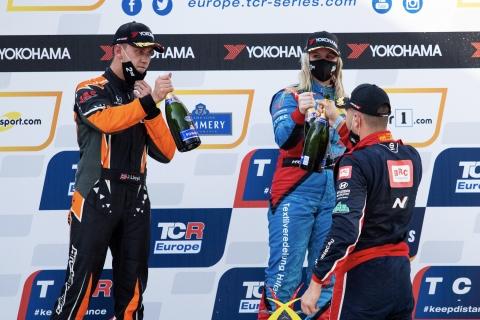 2020 TCR Europe Zolder Race 2 podium 71