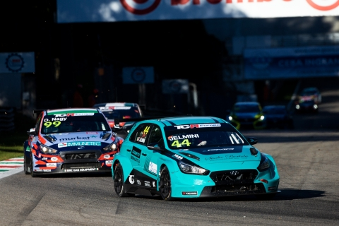2020 TCR Europe Monza Race 1 44 Felice Jelmini 52