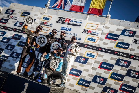 2020 TCR Europe Monza Race 1 podium 17