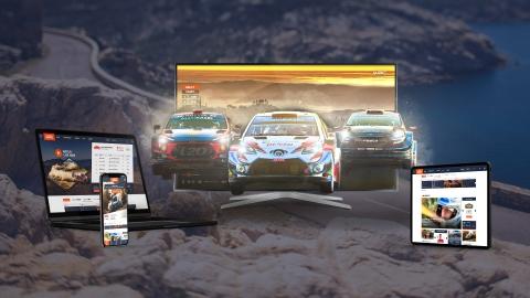 WRC.com relaunch