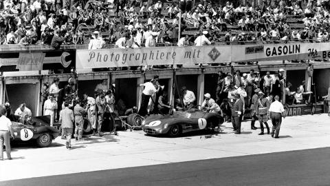 aston martin nurburgring 1958