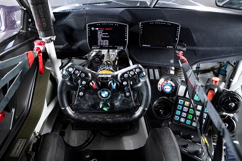 2021 BMW M4 GT3 Cockpit