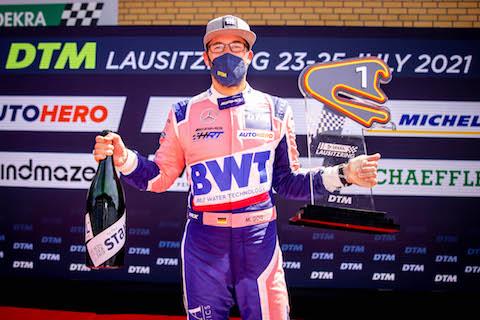 210725 DTM R2 Goetz trophy
