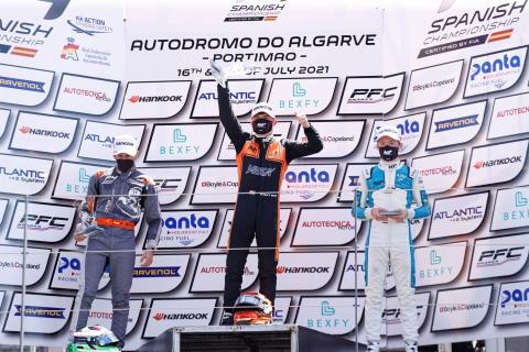 race 3 podium 2