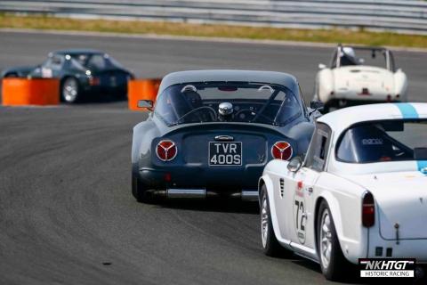 Niek van Gils - TVR Griffith leading a TR4