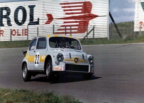 Fiat-Abarth-850-TC-Zandvoort-Swart